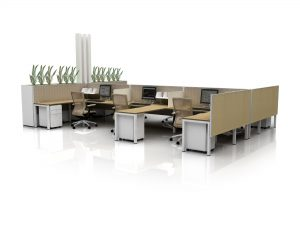 productive office space - creative innovative workplace