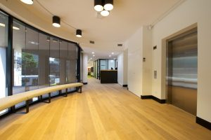 Office reception designer fitout