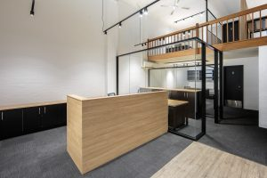 glass partitions and refurbishment